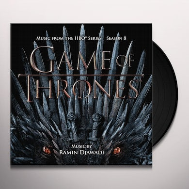 RAMIN DJAWADI Game of thrones: s8(selections from the hboseries)the iron throne version Vinyl Record