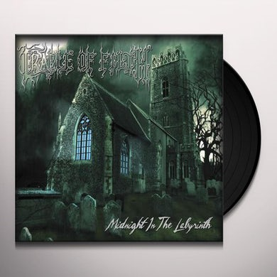 Cradle Of Filth MIDNIGHT IN THE LABYRINTH Vinyl Record