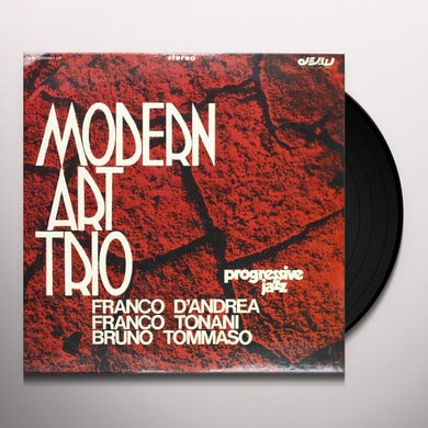 Modern Art Trio PROGRESSIVE JAZZ Vinyl Record