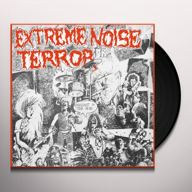 Extreme Noise Terror HOLOCAUST IN YOUR HEAD Vinyl Record