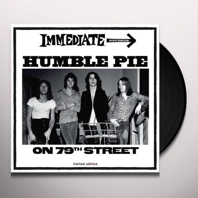 Humble Pie ON 79TH STREET Vinyl Record