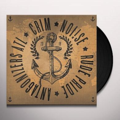 Antagonizers Atl / Crim / Noi!Se / Rude Pride 4 WAY SPLIT Vinyl Record