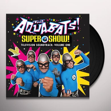 Aquabats SUPER SHOW - TELEVISION SOUNDTRACK: VOLUME ONE Vinyl Record