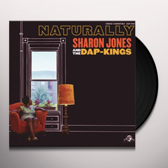 Sharon Jones & The Dap-Kings NATURALLY Vinyl Record