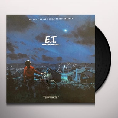E.T. THE EXTRA TERRESTRIAL / Original Soundtrack Vinyl Record