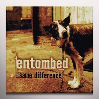 Entombed SAME DIFFERENCE Vinyl Record - Gatefold Sleeve, Red Vinyl, Limited Edition, Reissue, Colored Vinyl