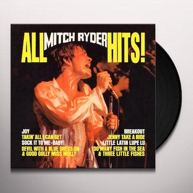 ALL MITCH RYDER HITS Vinyl Record
