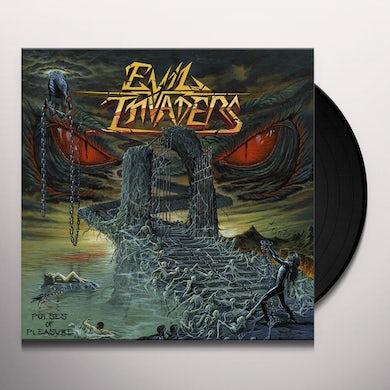 EVIL INVADERS PULSES OF PLEASURE Vinyl Record