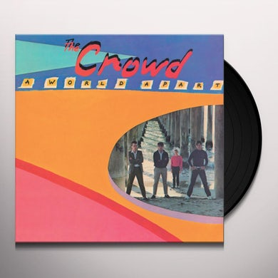 CROWD WORLD APART Vinyl Record
