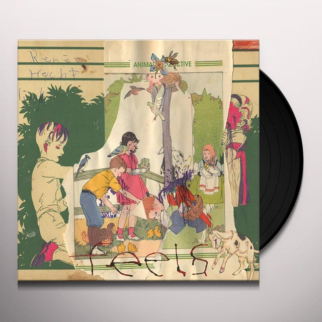 Animal Collective FEELS Vinyl Record