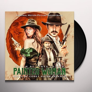 Corey Allen Jackson PAINTED WOMAN - Original Soundtrack Vinyl Record