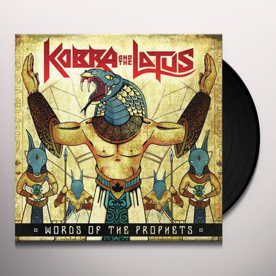 Kobra And The Lotus WORDS OF THE PROPHETS Vinyl Record