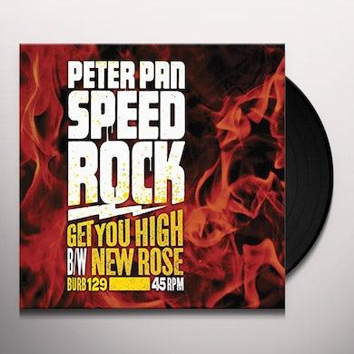 Peter Pan Speedrock GET YOU HIGH Vinyl Record