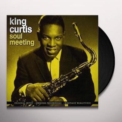 King Curtis SOUL MEETING Vinyl Record