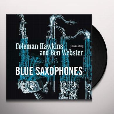 Coleman Hawkins / Ben Webster BLUE SAXOPHONES Vinyl Record
