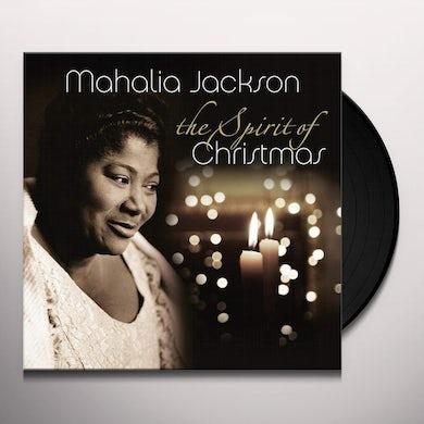 Mahalia Jackson SPIRIT OF CHRISTMAS Vinyl Record