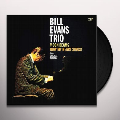 Bill Evans MOON BEAMS / HOW MY HEART SINGS Vinyl Record