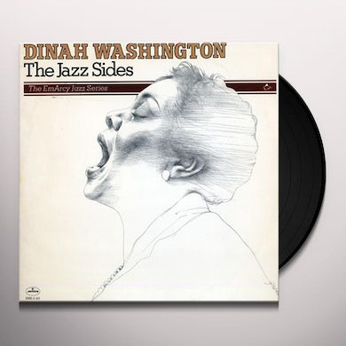 Dinah Washington THE JAZZ SIDES Vinyl Record