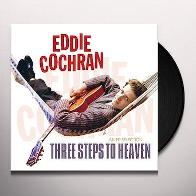 Eddie Cochran THREE STEPS TO HEAVEN Vinyl Record