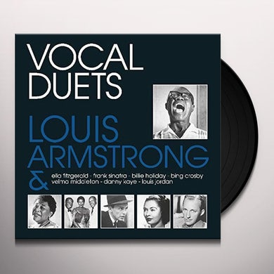 Louis Armstrong VOCAL DUETS Vinyl Record