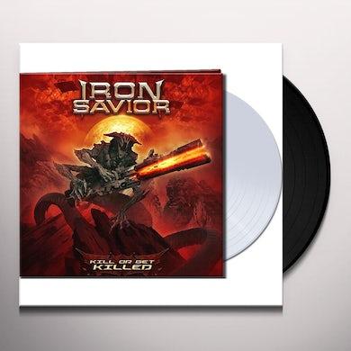 Iron Savior KILL OR GET KILLED (CLEAR VINYL) Vinyl Record