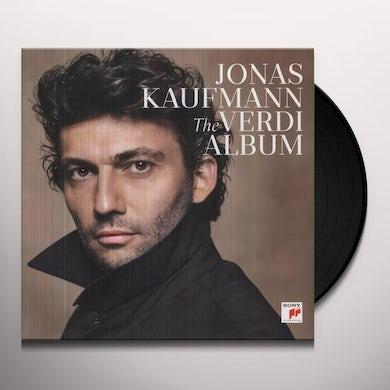 Jonas Kaufmann VERDI ALBUM Vinyl Record