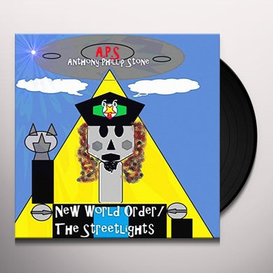 Anthony Phillip Stone NEW WORLD ORDER / STREETLIGHTS Vinyl Record