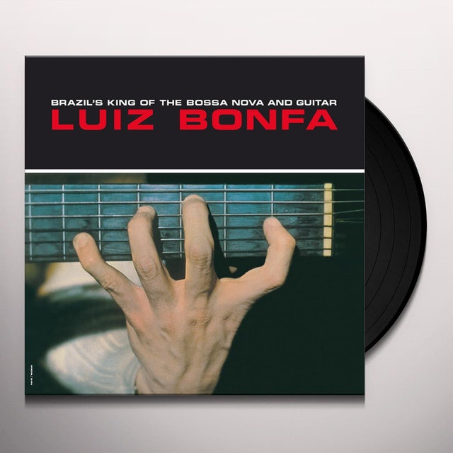 Luiz Bonfa BRAZILS KING OF THE BOSSA NOVA & GUITAR Vinyl Record