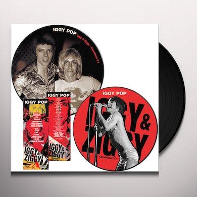 Iggy Pop IGGY & ZIGGY CLEVELAND '77 Vinyl Record