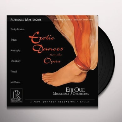 Eiji Oue EXOTIC DANCES FROM THE OPERA/MN ORCH Vinyl Record - Holland Release