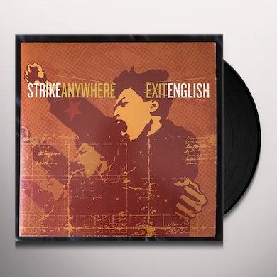 Strike Anywhere Exit English Vinyl Record