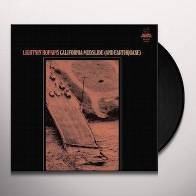 Lightnin Hopkins CALIFORNIA MUDSLIDE (AND EARTHQUAKE) Vinyl Record