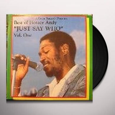 Horace Andy BEST OF 1 Vinyl Record