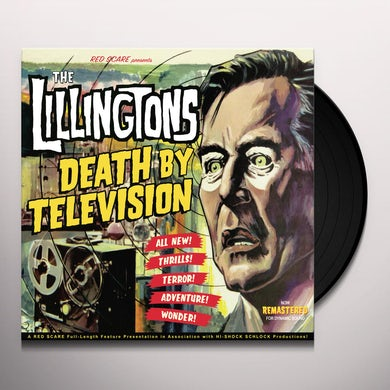 DEATH BY TELEVISION Vinyl Record