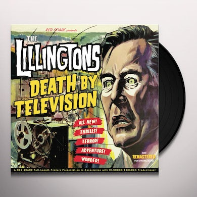 LILLINGTONS DEATH BY TELEVISION Vinyl Record