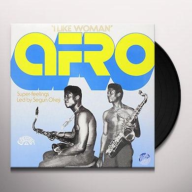Segun Okeji AFRO SUPER FEELINGS Vinyl Record