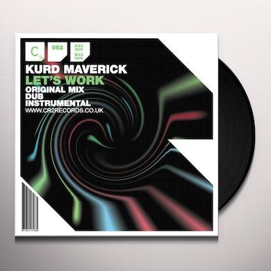 Kurd Maverick LET S WORK Vinyl Record