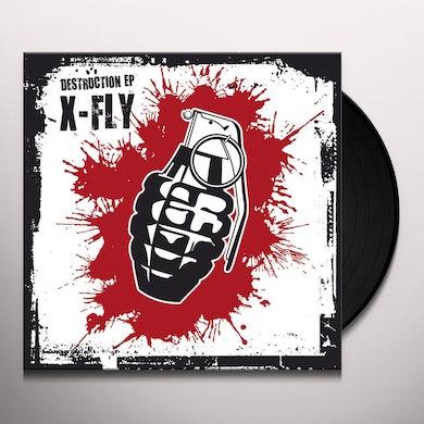 X-Fly DESTRUCTION EP Vinyl Record