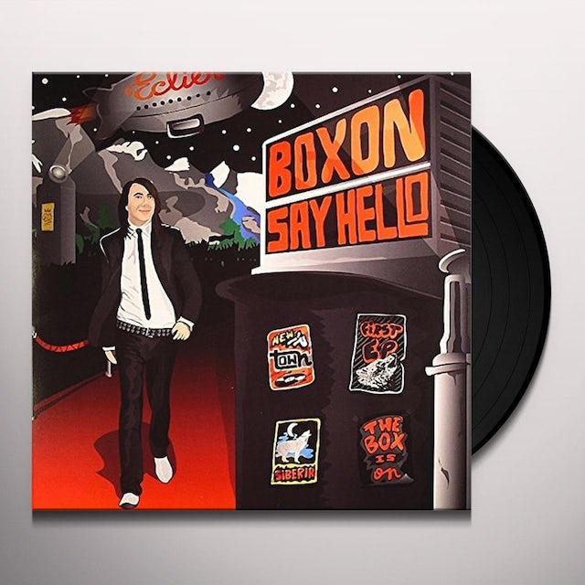 Eclier BOXON SAY HELLO EP Vinyl Record