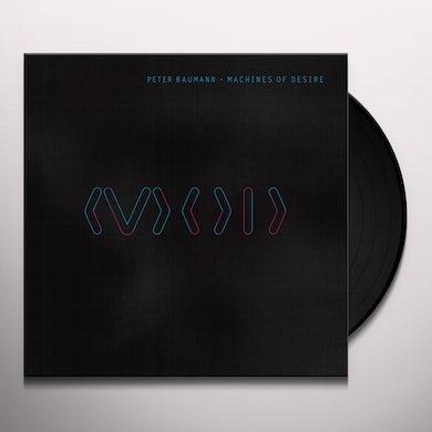 Peter Baumann MACHINES OF DESIRE Vinyl Record