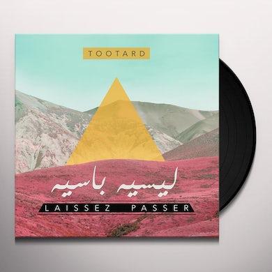 Tootard LAISSEZ PASSER Vinyl Record