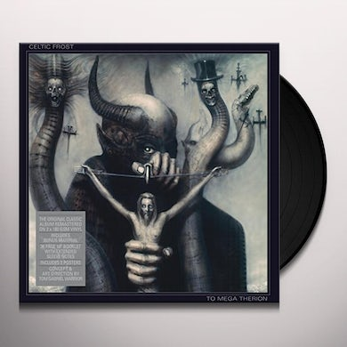 Celtic Frost TO MEGA THERION Vinyl Record