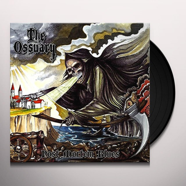 Ossuary POST MORTEM BLUES Vinyl Record
