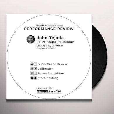 John Tejada PERFORMANCE REVIEW Vinyl Record
