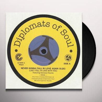 NEVER GONNA FALL IN LOVE AGAIN (LIKE I FELL IN) Vinyl Record