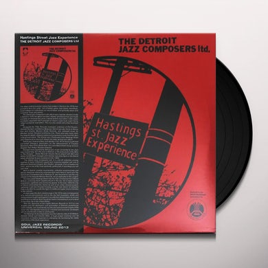 Detroit Jazz Composers HASTINGS ST JAZZ Vinyl Record
