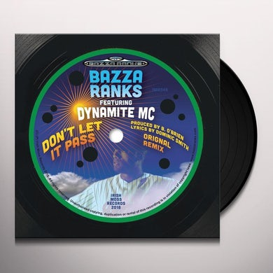 Bazza Ranks DON'T LET IT PASS Vinyl Record