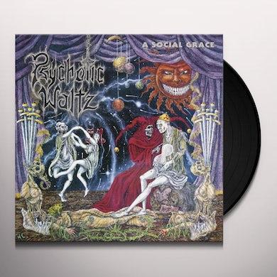 Psychotic Waltz SOCIAL GRACE (CLEAR VINYL) Vinyl Record