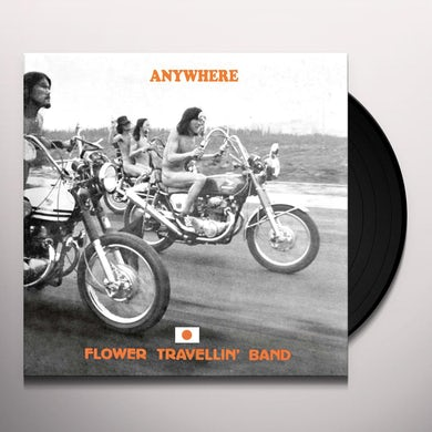 Flower Travellin Band ANYWHERE Vinyl Record
