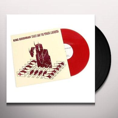 King Geedorah TAKE ME TO YOUR LEADER Vinyl Record